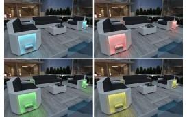 Designer Rattan Lounge Sofa AVENTADOR 3 Sitzer V1 von NATIVO™ Designer Möbel Österreich
