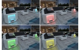 Designer Rattan Lounge Sofa AVENTADOR 1 Sitzer V1 von NATIVO™ Designer Möbel Österreich