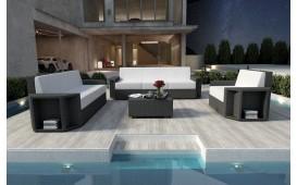 Designer Rattan Lounge Set AVENTADOR 3+2+1 V1