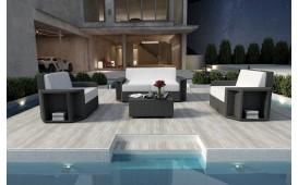 Designer Rattan Lounge Set AVENTADOR 2+1+1 V1