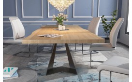 Designer Esstisch CAMELOT v.1 aus Massivholz von NATIVO™ Designer Möbel Österreich