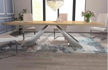 Designer Esstisch esstisch camelot v 3 aus massivholz bei nativo möbel wien günstig kaufen