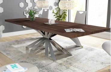 Designer Esstisch ARTHUR v.2 aus Massivholz von NATIVO™ Designer Möbel Österreich