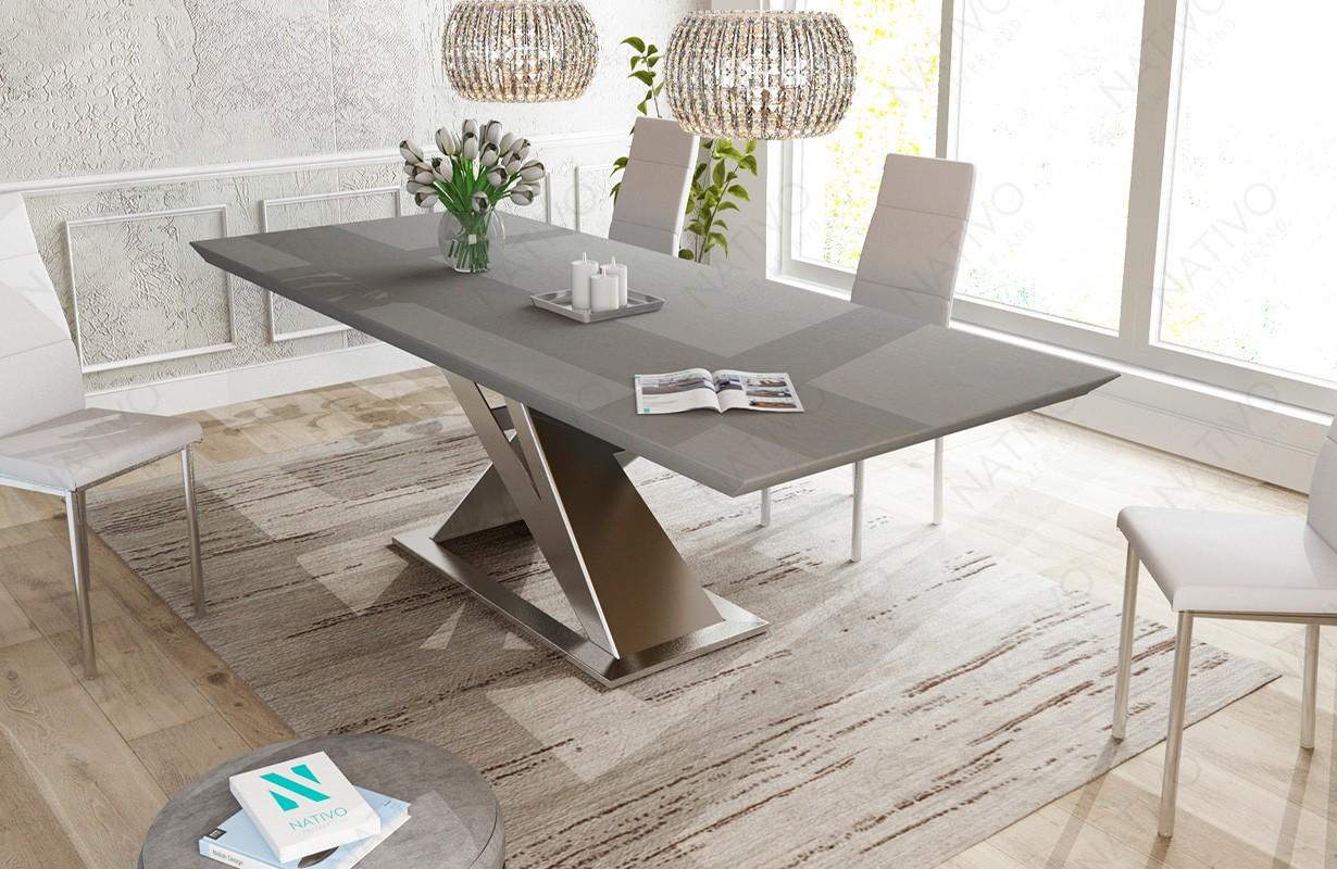 Elegant Designer Esstisch Avalon V Aus Massivholz Von Nativo Designer Mbel  Sterreich With Designer Esstisch