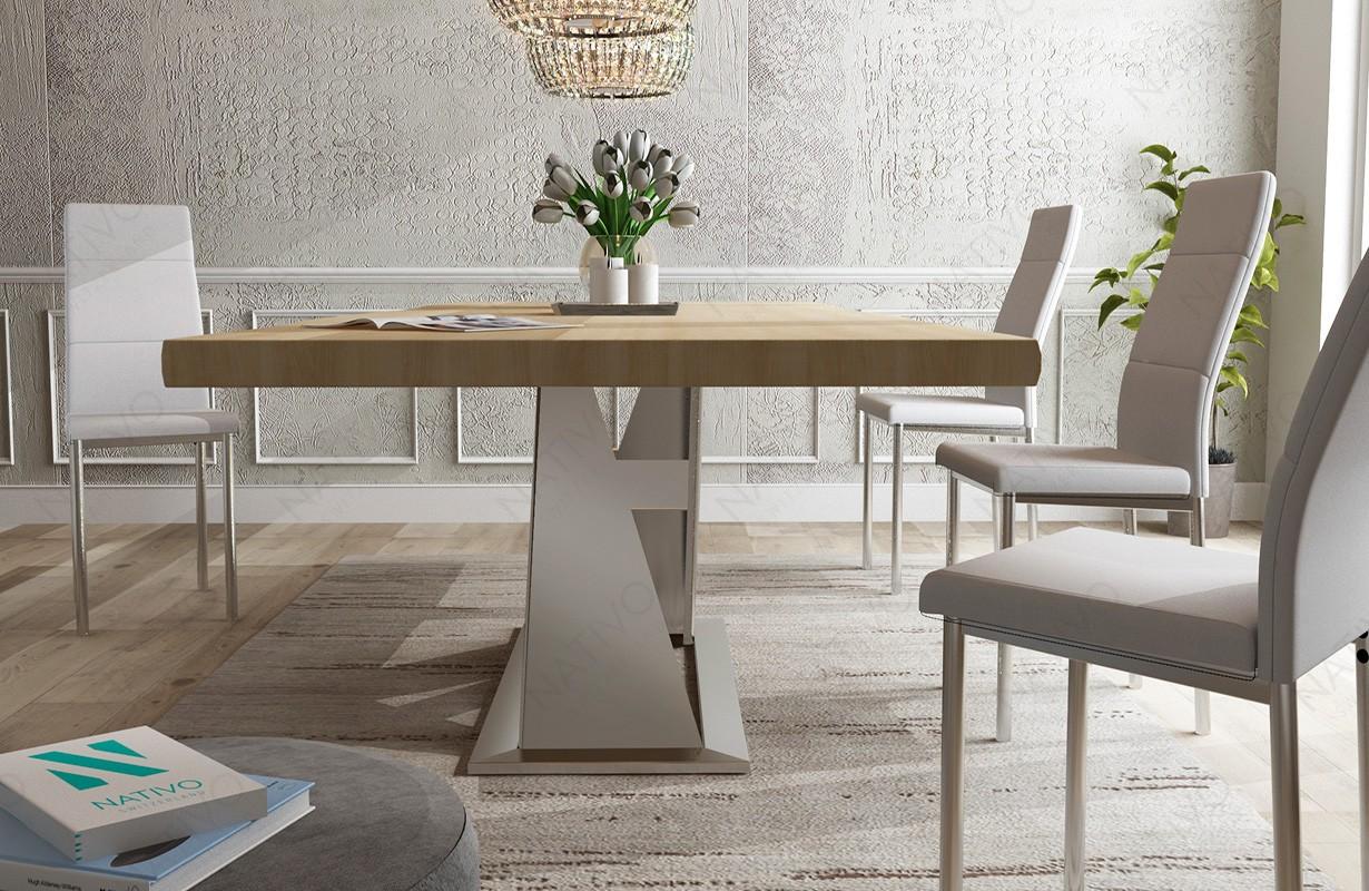 esstisch avalon v 1 aus massivholz bei nativo m bel wien. Black Bedroom Furniture Sets. Home Design Ideas