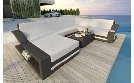 Designer Rattan Lounge Sofa MIRAGE XXL V2