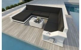 Designer Rattan Lounge Sofa MIRAGE XXL v2 von NATIVO™ Designer Möbel Österreich