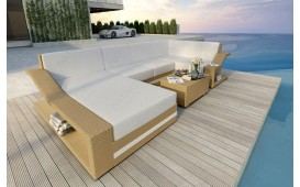 Designer Rattan Lounge Sofa MIRAGE XL V2