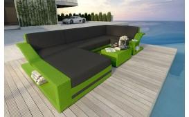 Designer Rattan Lounge Sofa MIRAGE XL v2 von NATIVO™ Designer Möbel Österreich