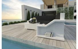 Designer Rattan Lounge Sofa MIRAGE CORNER V1 von NATIVO™ Designer Möbel Österreich