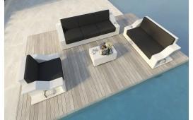 Designer Rattan Lounge Set MIRAGE 3+2+1 V1 von NATIVO™ Möbel Österreich