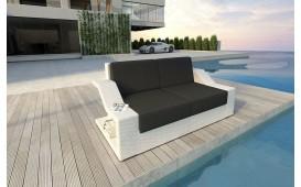 Designer Rattan Lounge Sofa MIRAGE 2 Sitzer V1 von NATIVO™ Möbel Österreich