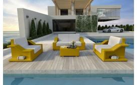 Designer Rattan Lounge Set MIRAGE 2+1+1 V1 von NATIVO™ Möbel Österreich