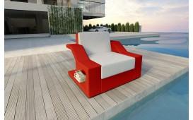 Designer Rattan Lounge Sofa MIRAGE 1 Sitzer V1 von NATIVO™ Möbel Österreich