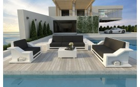 Designer Rattan Lounge Set MIRAGE 3+2+1 V2 von NATIVO™ Möbel Österreich