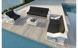 Designer Rattan Lounge Set MIRAGE 3+2+1 V2
