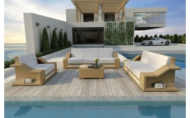 Designer Rattan Lounge Set MIRAGE 3+2+1 V2