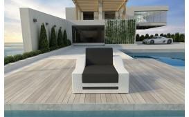 Designer Rattan Lounge Sofa MIRAGE 1 Sitzer