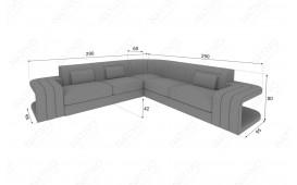 Designer Sofa SPACE CORNER mit LED Beleuchtung von NATIVO™ Designer Möbel Österreich