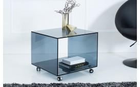 Designer Beistelltisch CLEAR 50 cm ROL ANTHRAZIT