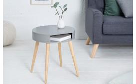 Designer Beistelltisch MAN ROUND GREY von NATIVO™ Designer Möbel Österreich