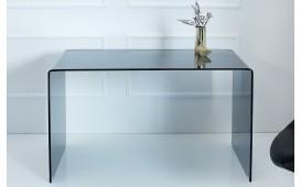 Designer Schreibtisch CLEAR 120 cm ANTHRAZIT
