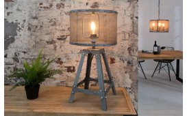 Designer Tischleuchte APT GREY 60 cm