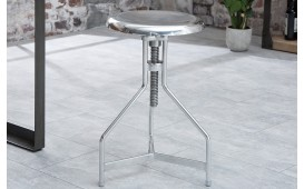 Designer Sitzhocker FABRIK SILVER von NATIVO™ Designer Möbel Österreich