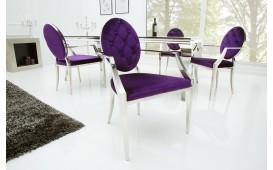 Designer Stuhl ROCCO LILA II mit Armlehne  von NATIVO™ Designer Möbel Österreich