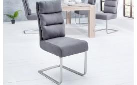 4 x Designer Stuhl VENTO GREY