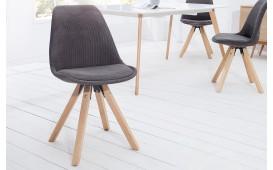 Designer Stuhl SCANIA CORD DARK von NATIVO™ Möbel Österreich