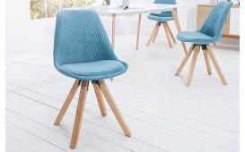 Designer Stuhl SCANIA CORD TURQOISE von NATIVO™ Möbel Österreich