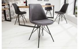 Designer Stuhl SCANIA RETRO ANTIK GREY von NATIVO™ Möbel Österreich