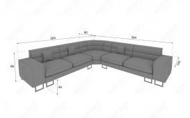 Designer Sofa GREGORY CORNER mit LED Beleuchtung von NATIVO™ Möbel Österreich