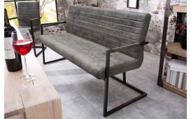 Designer Polsterbank RICH GREY