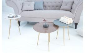Designer Beistelltisch TRIPLE SET 3 von NATIVO™ Designer Möbel Österreich