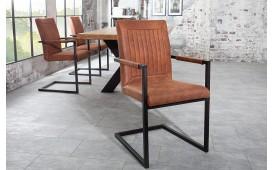 Designer Stuhl WINTER BROWN MIT ARMLEHNE von NATIVO™ Designer Möbel Österreich