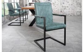 Designer Stuhl WINTER TURKIS MIT ARMLEHNE von NATIVO™ Designer Möbel Österreich