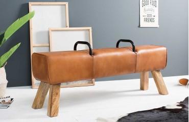 Designer Polsterbank BOK LEATHER von NATIVO™ Designer Möbel Österreich