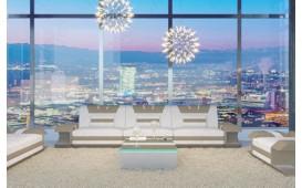 3 Sitzer Leder Sofa MYSTIQUE mit LED Beleuchtung & USB Anschluss von NATIVO™ Möbel Österreich