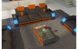 3 Sitzer Sofa CLERMONT mit LED Beleuchtung von NATIVO™ Designer Möbel Österreich
