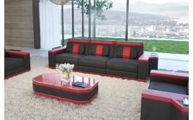 3 Sitzer Sofa CESARO mit LED Beleuchtung