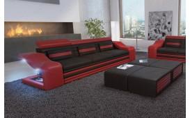3 Sitzer Sofa MIRAGE mit LED Beleuchtung