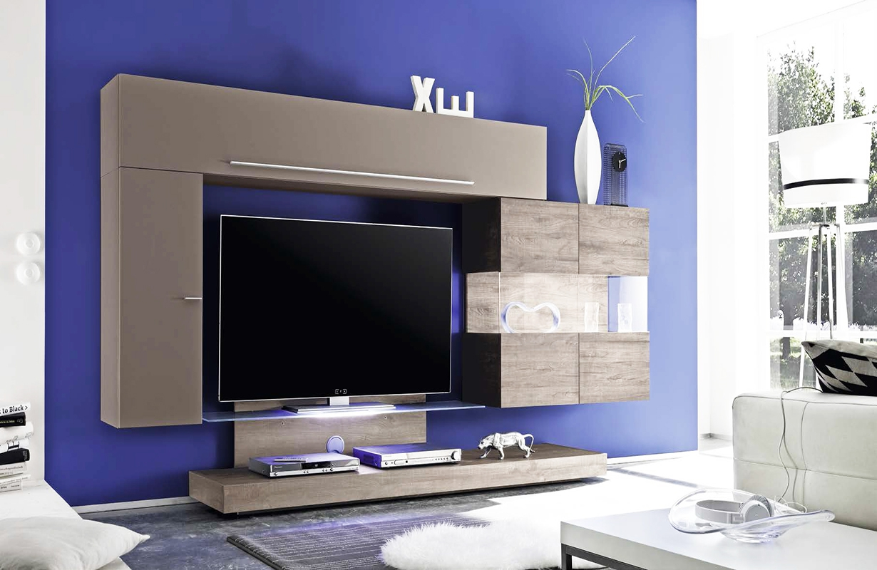 designer wohnwand veneto nativo wien moebel. Black Bedroom Furniture Sets. Home Design Ideas