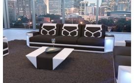 3 Sitzer Sofa AVENTADOR mit LED Beleuchtung