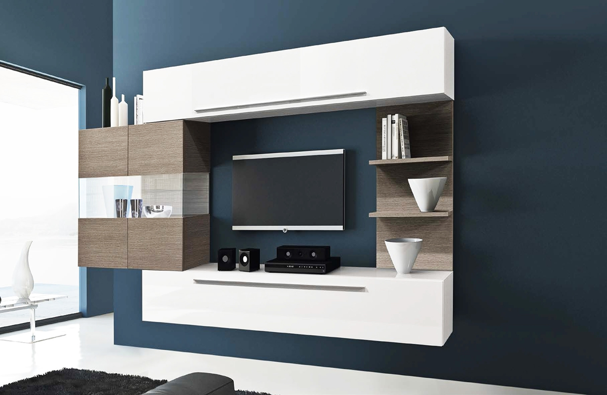 designer wohnwand salerna nativo wien moebel. Black Bedroom Furniture Sets. Home Design Ideas