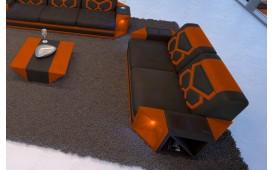 2 Sitzer Sofa AVENTADOR mit LED Beleuchtung