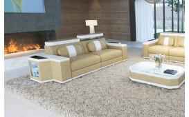 2 Sitzer Sofa CESARO mit LED Beleuchtung von NATIVO™ Designer Möbel Österreich