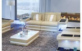 2 Sitzer Sofa CAREZZA mit LED Beleuchtung