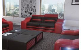 2 Sitzer Sofa MIRAGE mit LED Beleuchtung